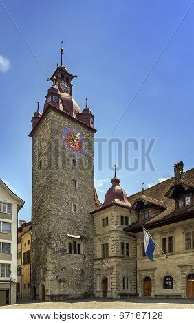 Town Hall Clock Tower, Lucerne
