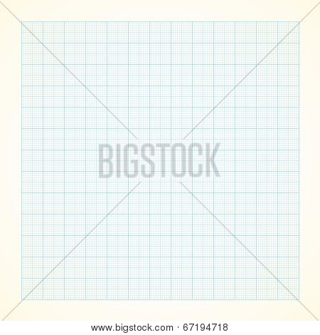 Graph grid paper background