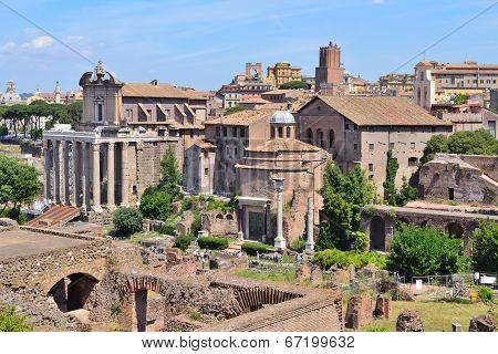 Italy. Roman Forum