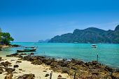 picture of koh phi-phi  - Beautiful Landscape of koh Phi - JPG