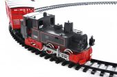 stock photo of train track  - a beautiful Train toy present for children - JPG