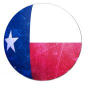 stock photo of texans  - texan flag on a solid white background - JPG
