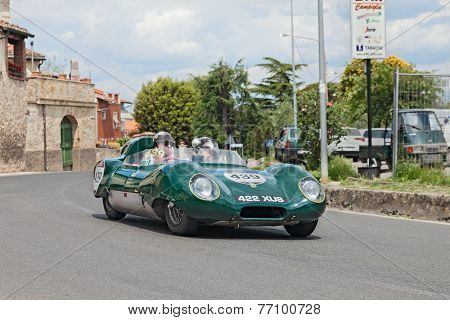 Lotus Eleven Climax Le Mans (1957) In Mille Miglia 2014