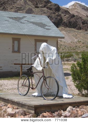 Ghost Riding Bike