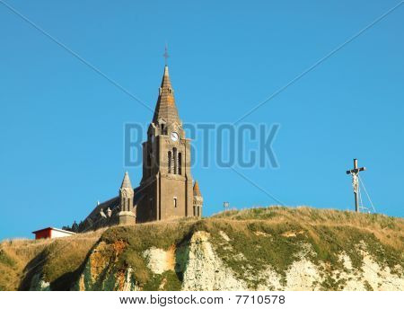 Old church in Dieppe, Normandy