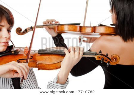 Violinists Isolated