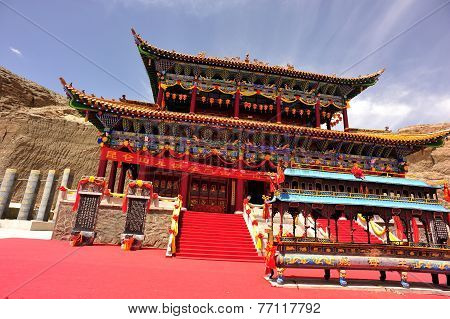 temple in tibet,china