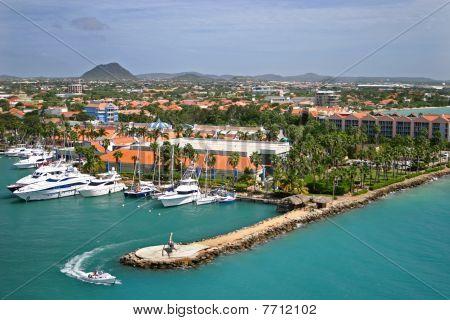 Marina in Aruba