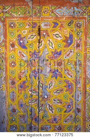 Old Moroccan Door