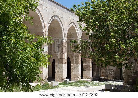 the Sultanhani caravansary on the Silk Road Turkey