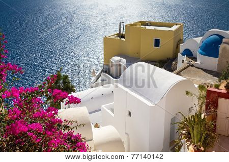 Tranquil Scene At Oia