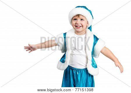 Santa Kid Wants To Hug You