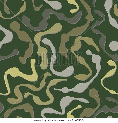 Fatigues Seamless Pattern