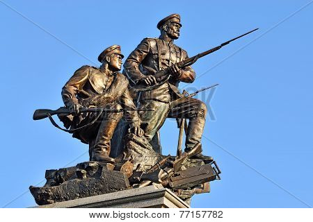 Monument To Heroes Of First World War. Kaliningrad (former Koenigsberg), Russia