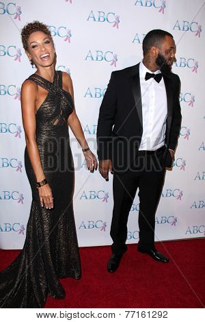LOS ANGELES - NOV 22:  Nicole Murphy, The Game at the ABC 25th Annual Talk Of The Town Black Tie Gala at the Beverly Hilton Hotel on November 22, 2014 in Beverly Hills, CA