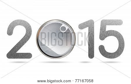 2015 Numeric From Aluminum Foil Seal And Metal Texture
