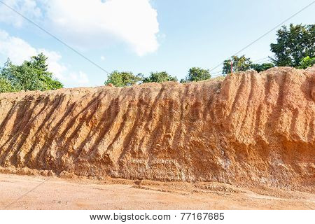 Lateritic Soil Cross Section