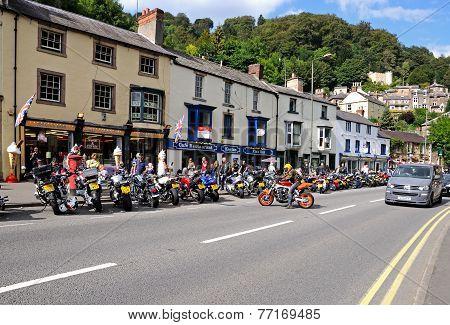 Matlock Bath town centre.