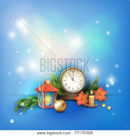 Christmas Vector Celebration Background