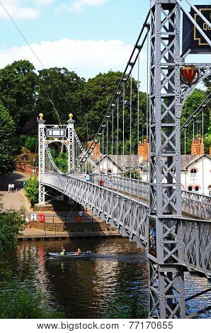 Dee Suspension bridge, Chester.