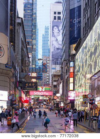 Central District Hong Kong