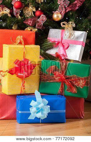 Presents Underneath The Tree