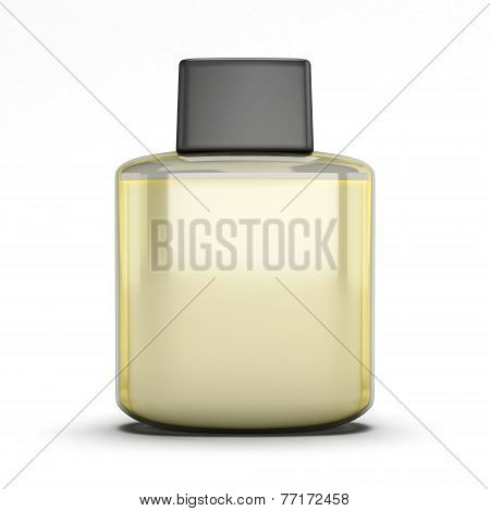 Blank Bottle Of Aftershave