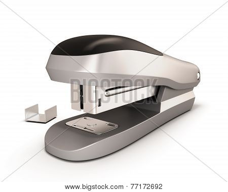Stapler Illustration.