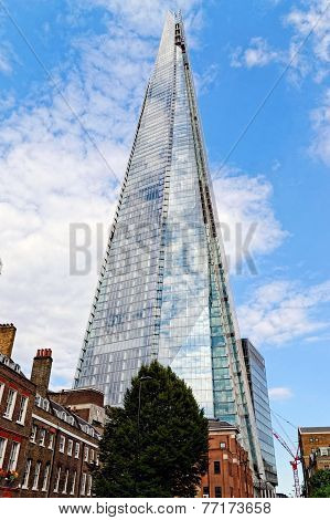 The Shard (Architect Renzo Piano, 2012) - tallest building in European Union.
