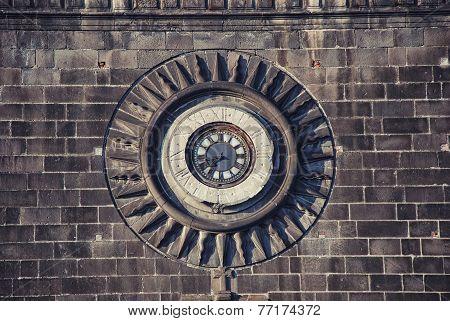 Clock of Puebla Cathedral