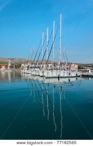 Port (harbour) in Trogir