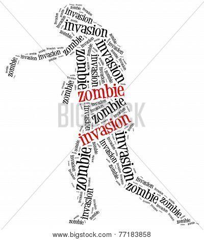 Zombie Invasion Or Apocalypse Concept.