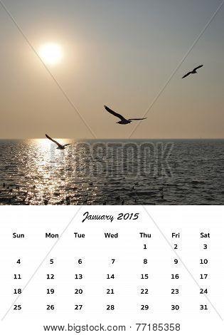 January Of Calendar