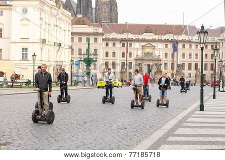 Street In Prague.