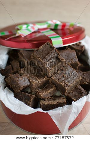 Handmade Chocolate Fudge