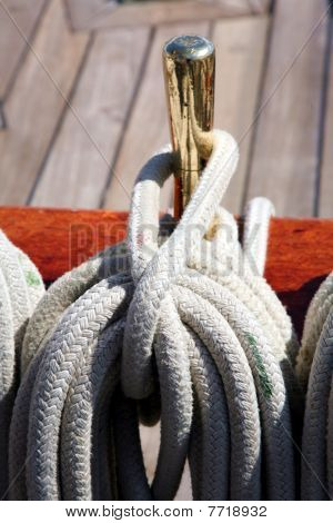 Tall ship rigging
