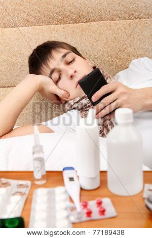 Sick Teenager Home
