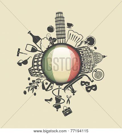 Symbol of Italy