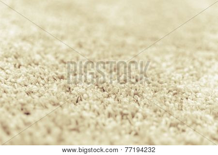 Close Up Of Wool Texture