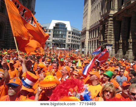 Dutch Soccer Fans
