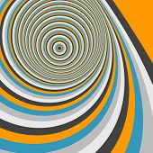 image of optical  - Abstract swirl background - JPG
