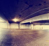 stock photo of garage  -  concrete structure series  - JPG