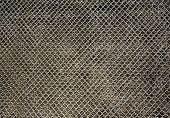 picture of chain link fence  - Metal chain link fence texture                        - JPG