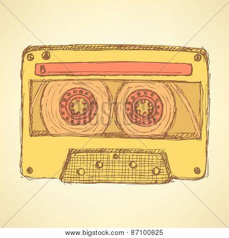 Sketch Record Cassette