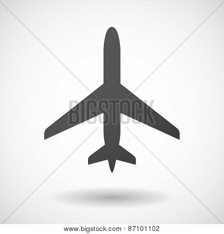 Grey Plane