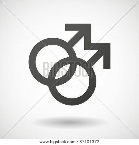 Grey Gay Sign