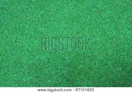 Green glitter foam sheet texture