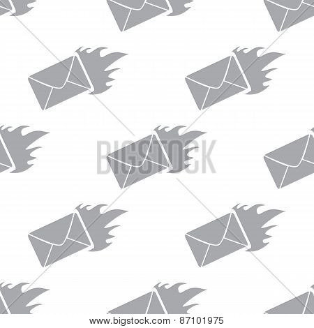 New Hot letter seamless pattern