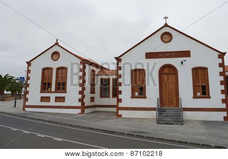 Historic building in La Ampuyenta