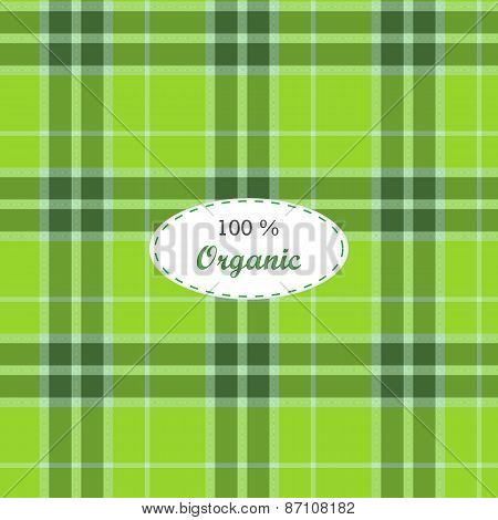 Tartan traditional checkered british fabric seamless pattern. Vintage fabric texture
